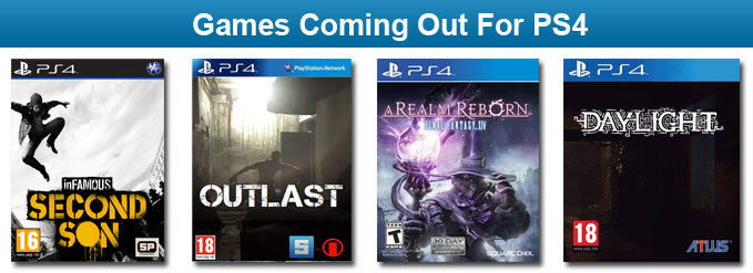 Games Coming Out For PS4 Only in 2014 and 2015